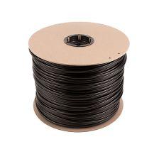 "Tempo T250V 1/4"" Black Vinyl Tubing (0.170 ID x 0.250 OD) (40 PSI) (500') | T250V-500"
