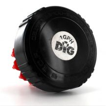 DIG 1 GPH Pressure Compensating Emitter Kit | TOP-100