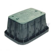 Rain Bird VB Series VBSPRH Super Jumbo Valve Box withGreen Lid