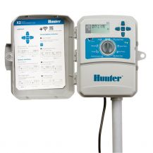 Hunter 8-Station Controller with 120V Internal Transformer and Plug