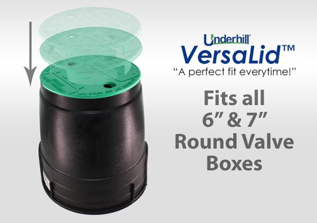 Underhill VL 6 in. Versalid Green Valve Box Cover