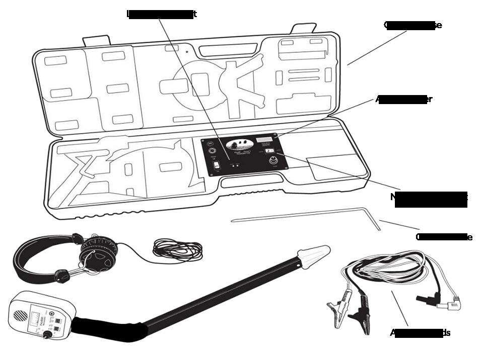 Armada PRO-800D Hi Power Wire and Valve Locator
