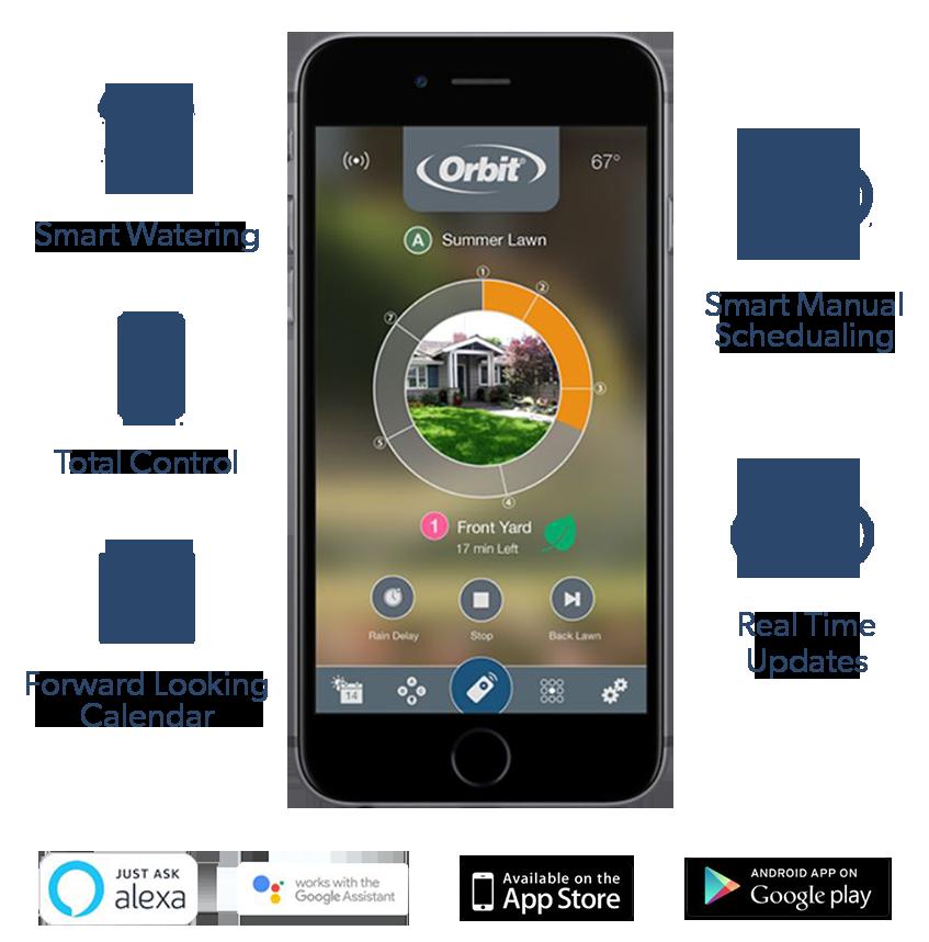 Orbit B-HYVE 6 Station WiFi Outdoor Controller