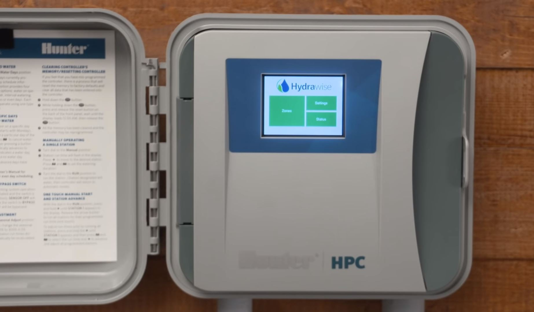 Hunter Pro-C Controllers Front Panel