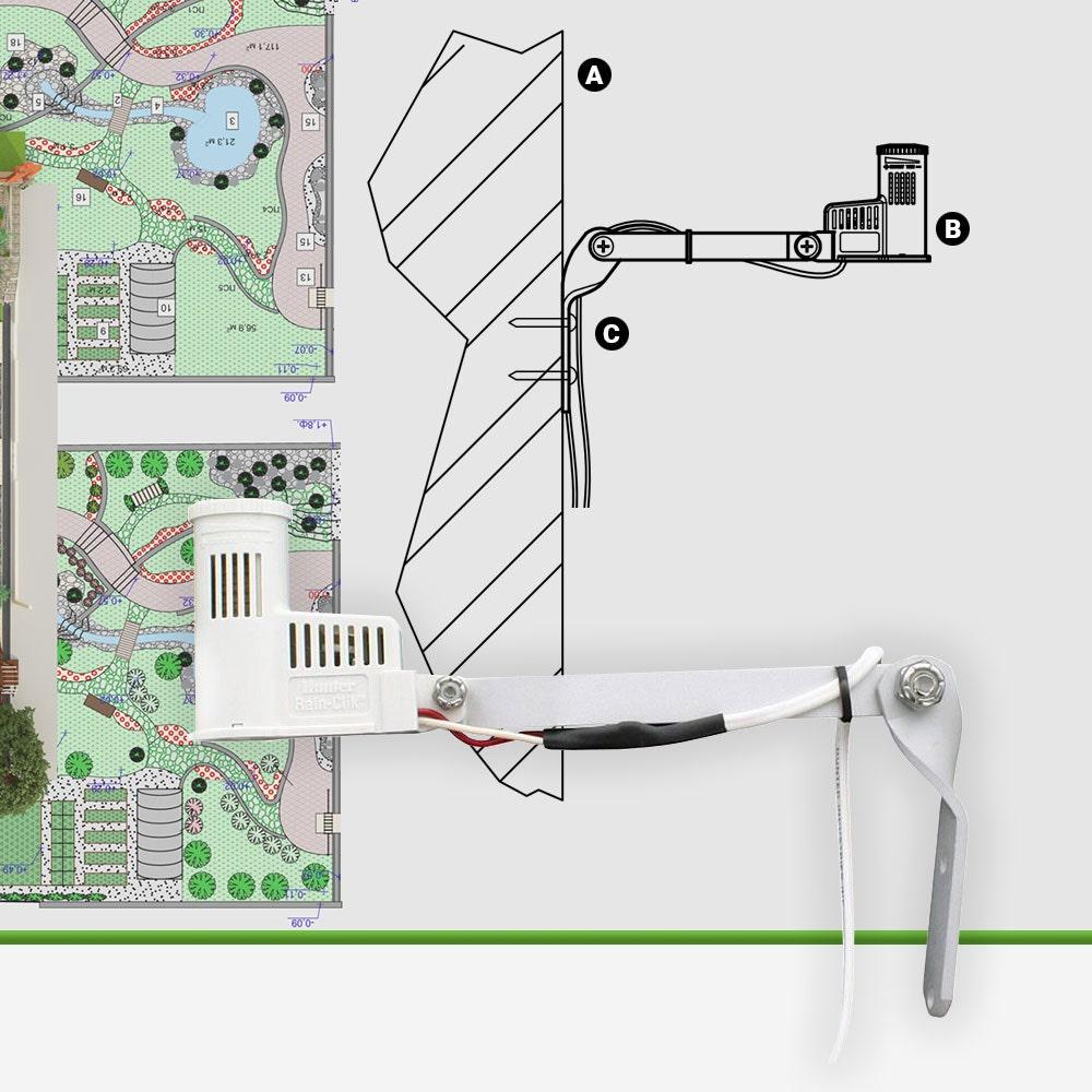 Hunter Rain Clik Rain Sensor