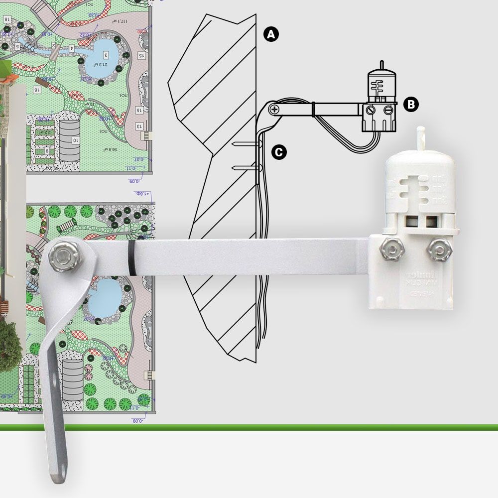 Hunter Mini-Clik Wired Rain Sensor
