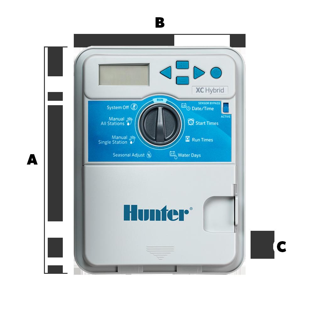 Hunter 12 Station XC-Hybrid Sprinkler System Controller XCH-1200
