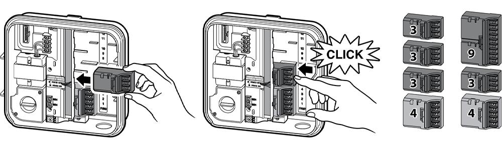 Hunter Pro-C Modular 4 Station Indoor Controller