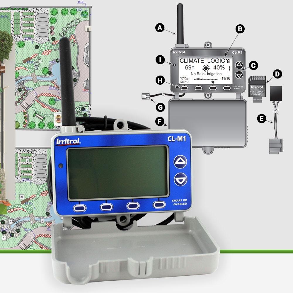 Irritrol CL-M1 Climate Logic Wireless Receiver Module