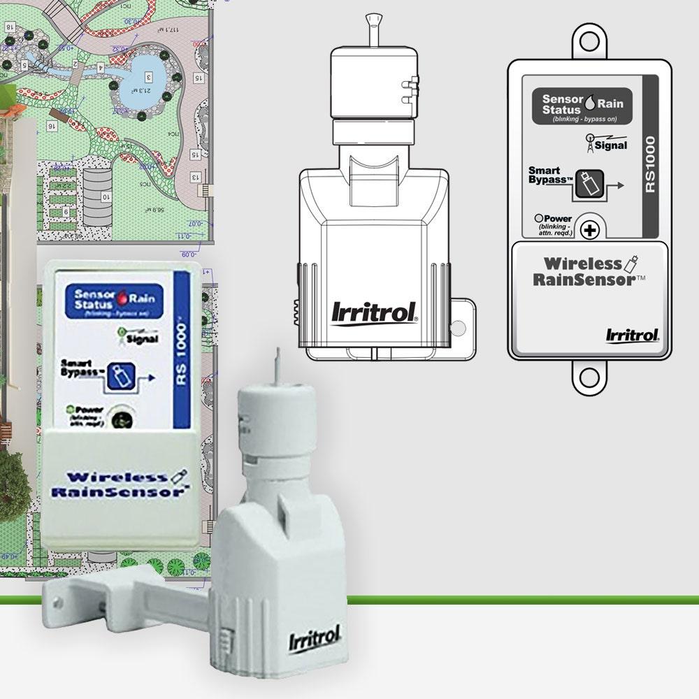 Irritrol RS1000 Wireless Rain Sensor Plus