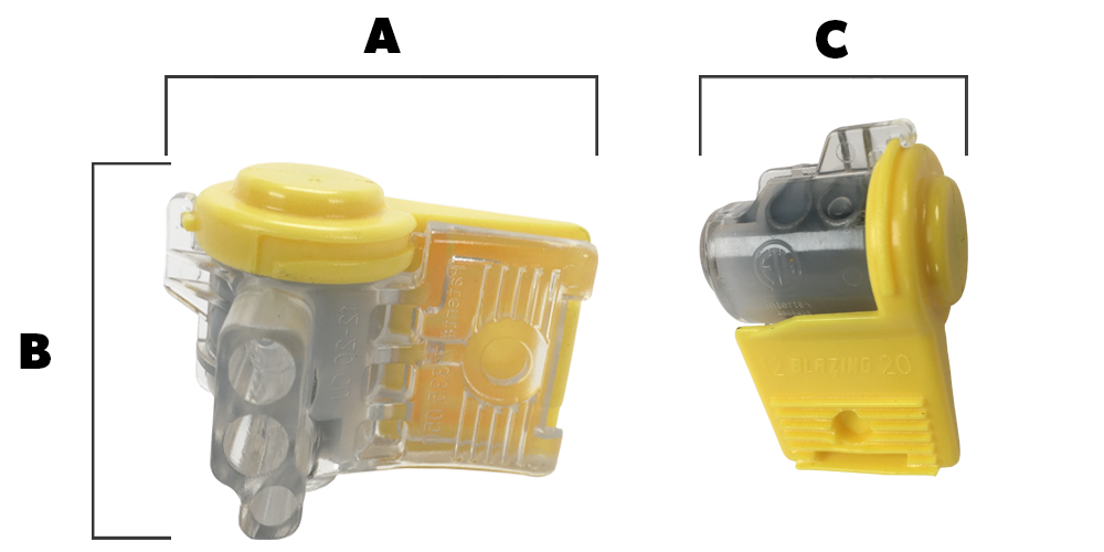 Blazing Waterproof Medium SnapLoc Connector