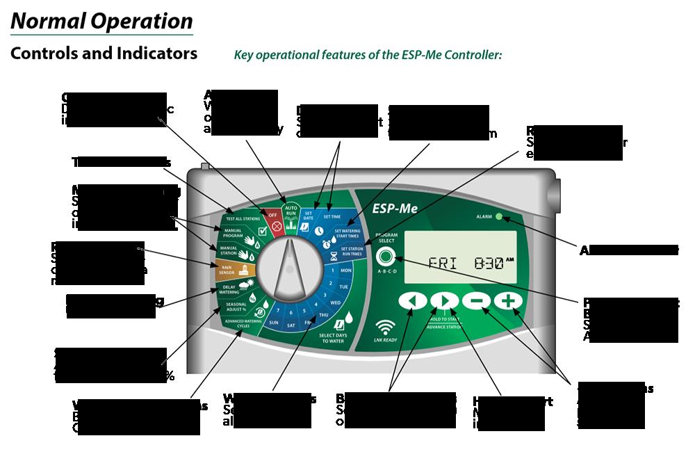 Rain Bird ESP-Me 4 Station WiFi Ready Indoor Controller
