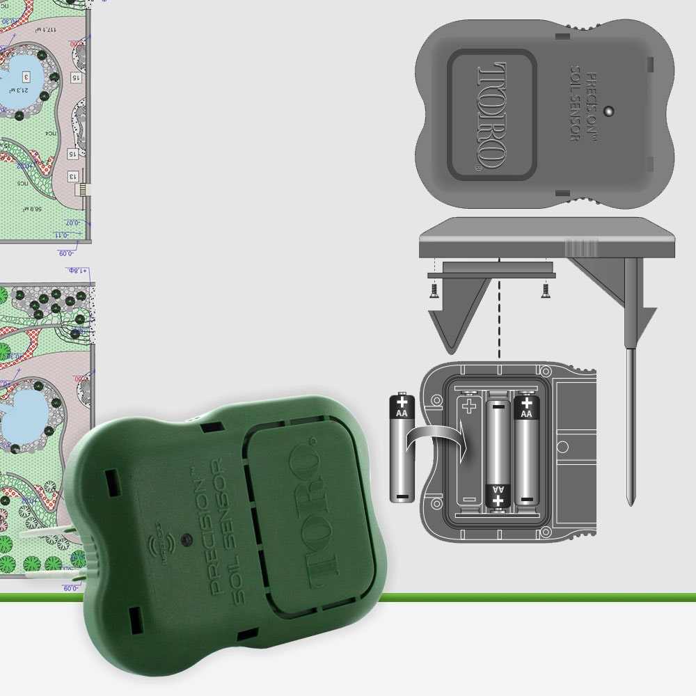 Toro PSS-KIT Precision Wireless Soil Sensor and Receiver Kit