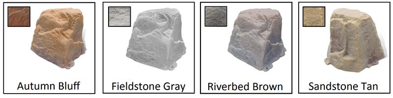 Dekorra 102 Fieldstone Non-Insulated Rock Enclosure